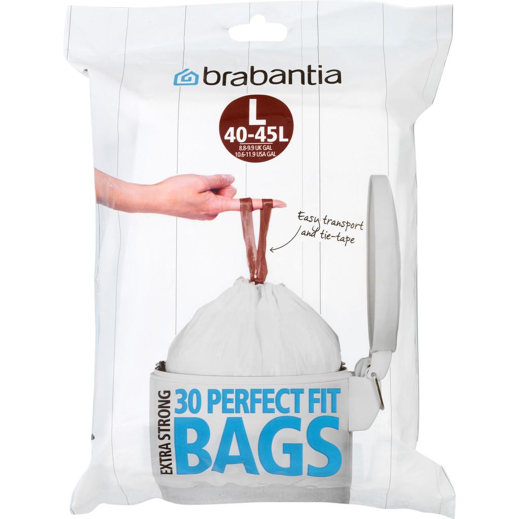 Afbeelding van Brabantia afvalzak Code L 40 45 Liter (30 stuks)