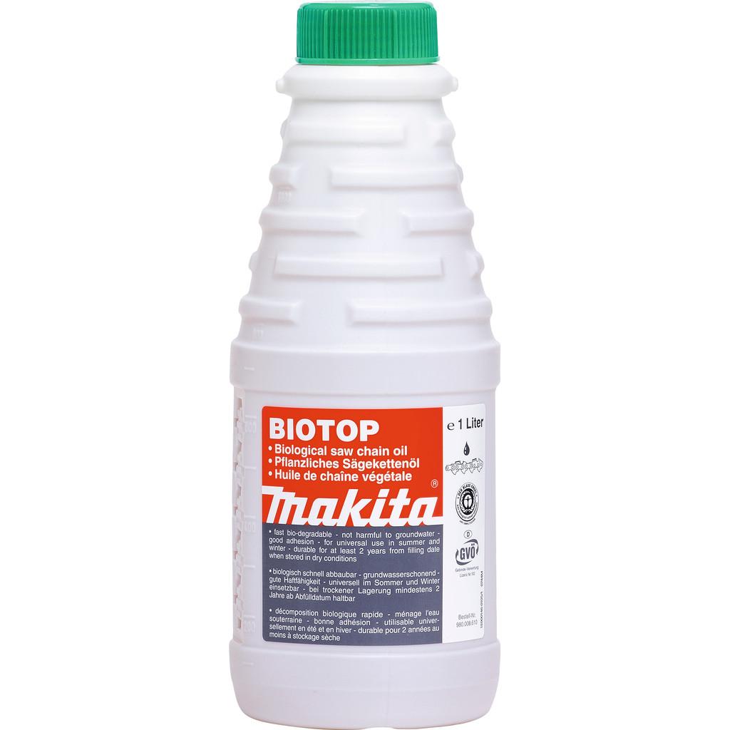 Makita Kettingolie Biotop 1 liter