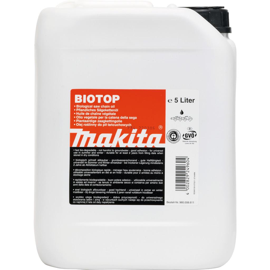 Makita Kettingolie Biotop 5 liter in Meije