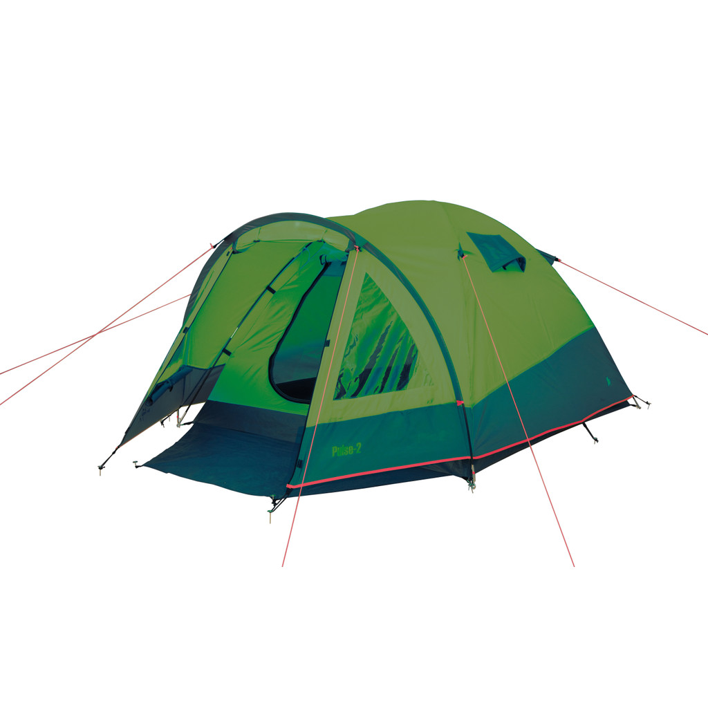 Bo-Camp Tent Pulse 2 Groen/Grijs in Humcoven