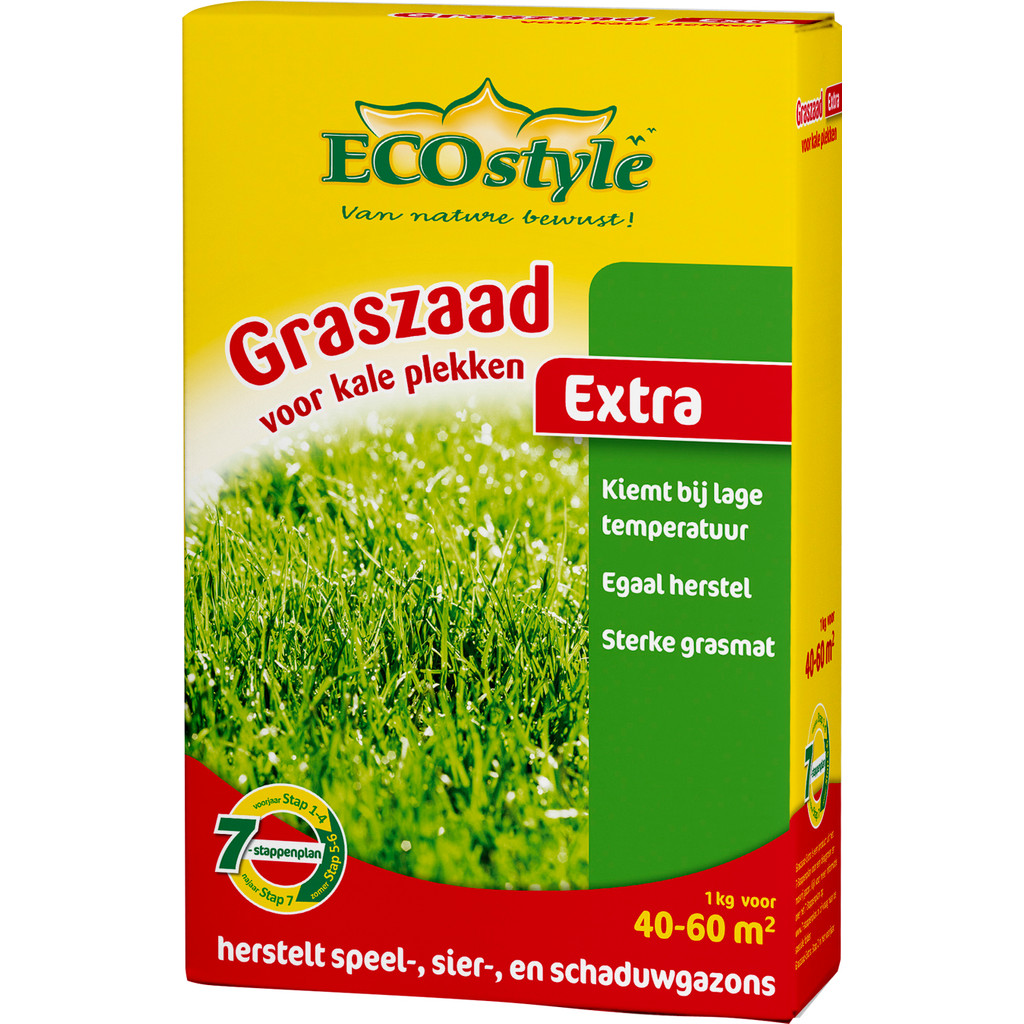 ECOstyle Graszaad Extra 1kg in Monster