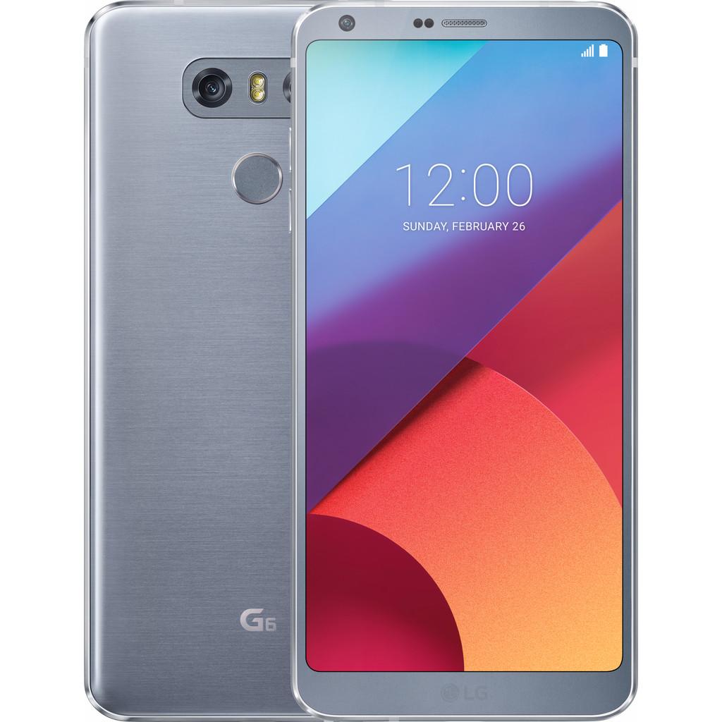 LG G6 Grijs-32 GB opslagcapaciteit  5,7 inch Quad HD scherm  Android 7.0 Nougat