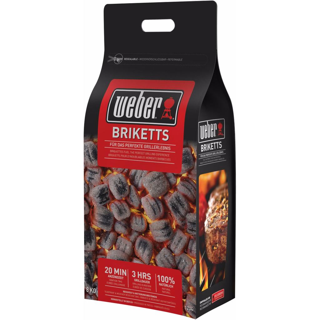Weber Briketten 8 kg in Heers