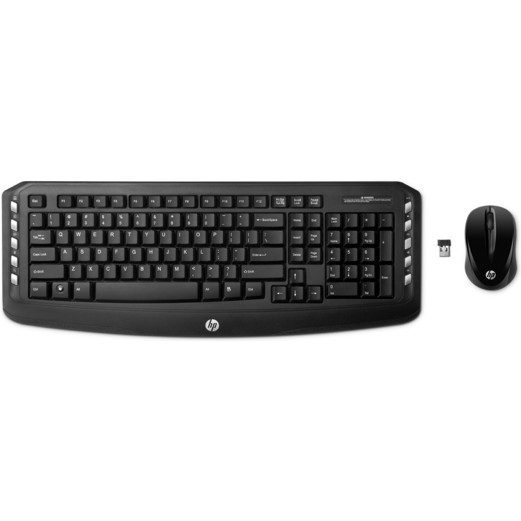 HP Wireless Classic Desktop (LV290AA) QWERTY in Donk