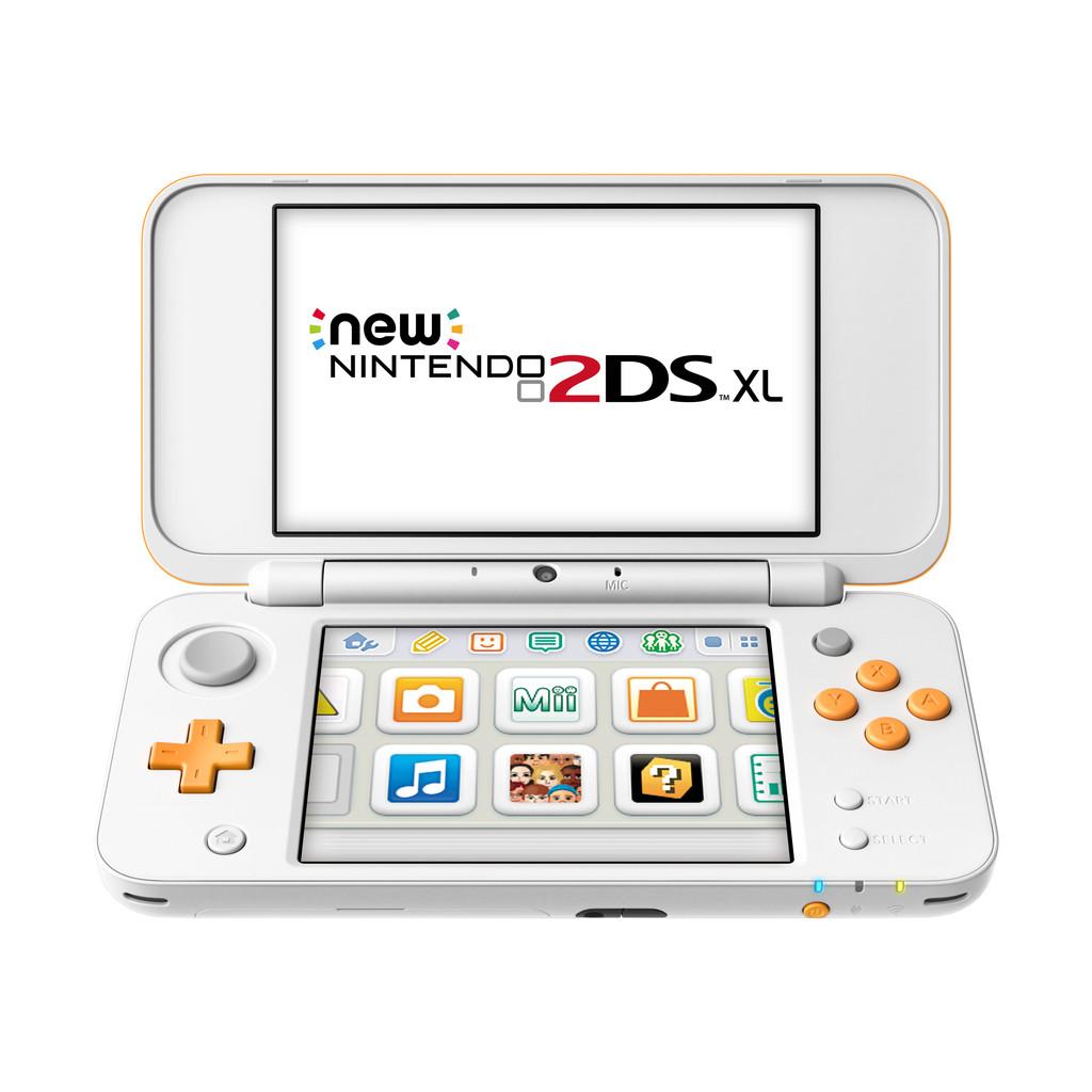 Nintendo 2DS XL Wit / Oranje kopen