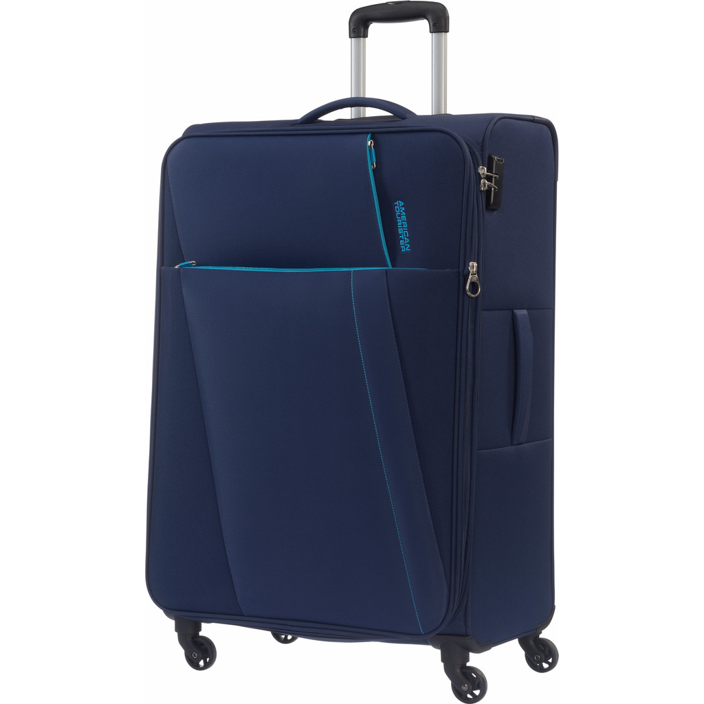 American Tourister Joyride Expandable Spinner 79cm Nordic Blue in Heukelom
