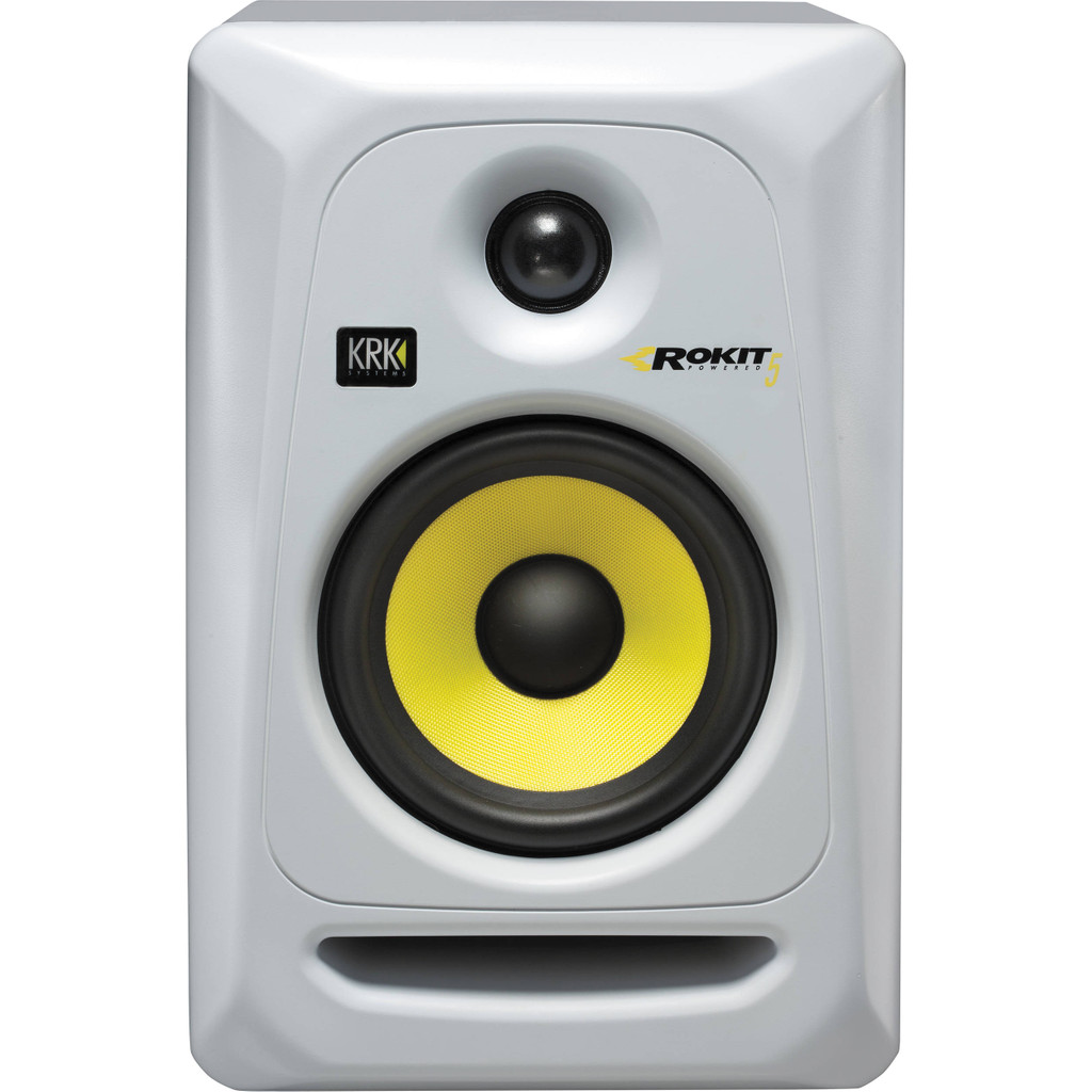 KRK RP5 G3 Rokit White Finish (enkele) in Broek in Waterland