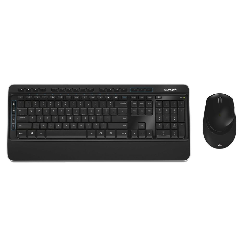 Microsoft Wireless Desktop 3050 Toetsenbord en Muis QWERTY in Neufmaison