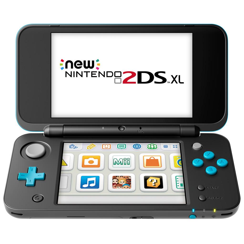 Nintendo 2DS XL Zwart / Turquoise kopen