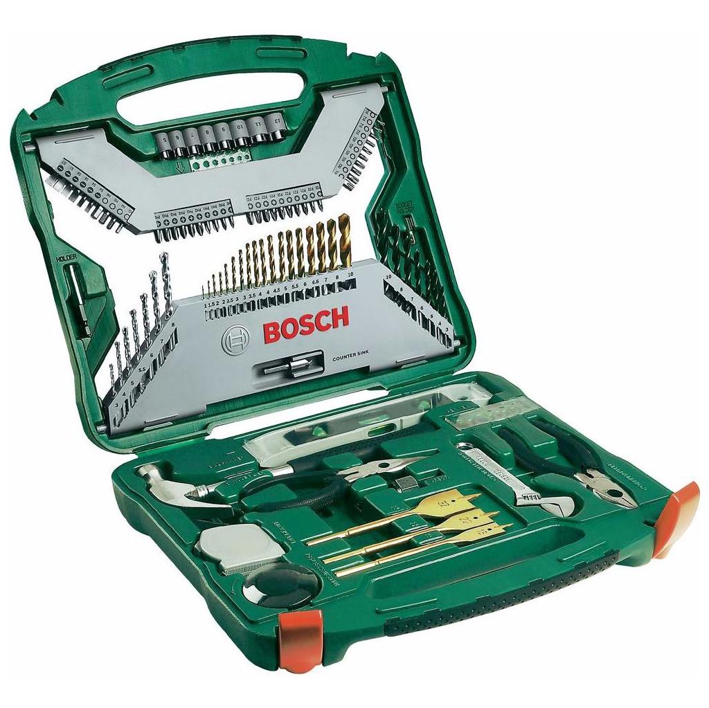 Bosch X-Line 103-delige accessoire set 'Titanium Plus' kopen