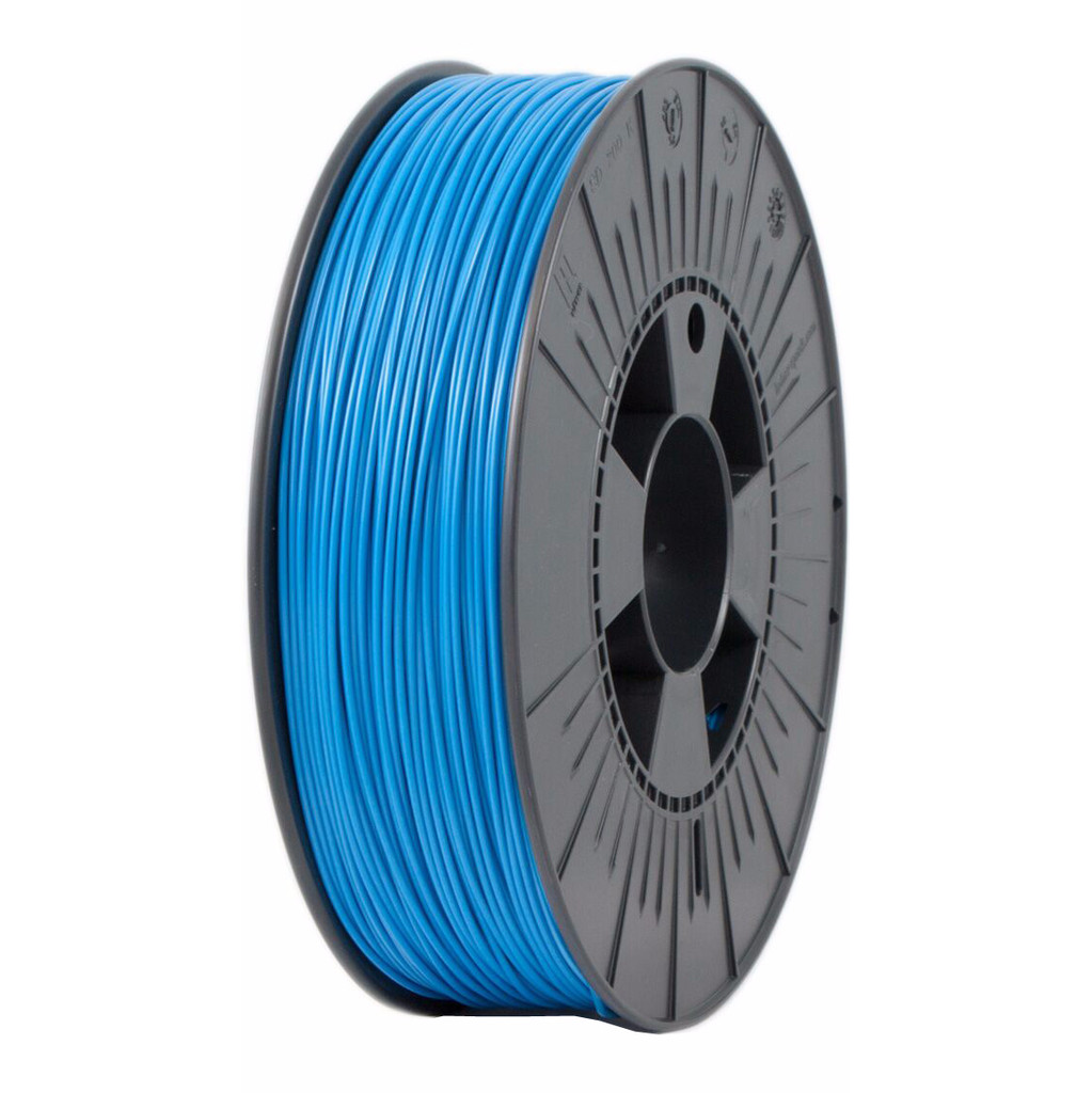 ICE filaments ABS Blauw 1,75 mm (0,75 kg) in Stuifakker