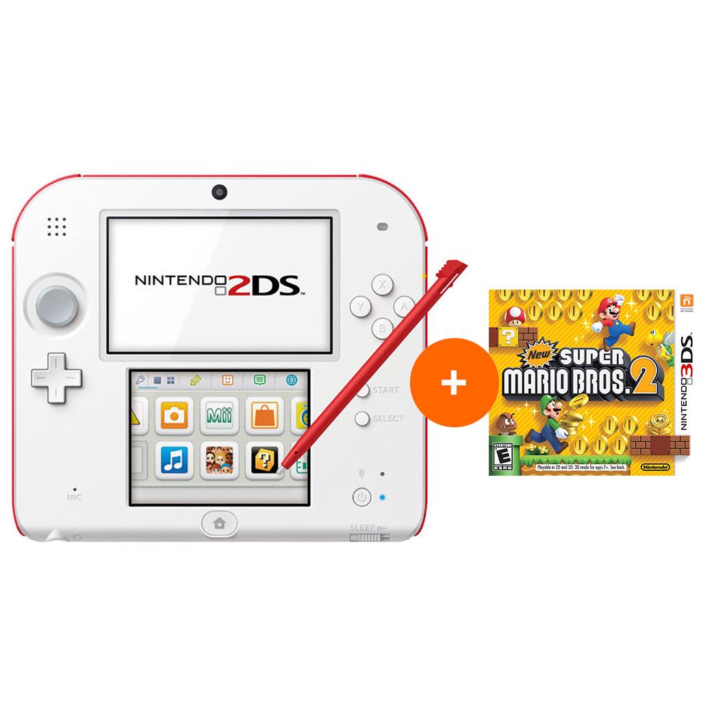 Nintendo 2DS New Super Mario Bros. 2 Pack in Andelst
