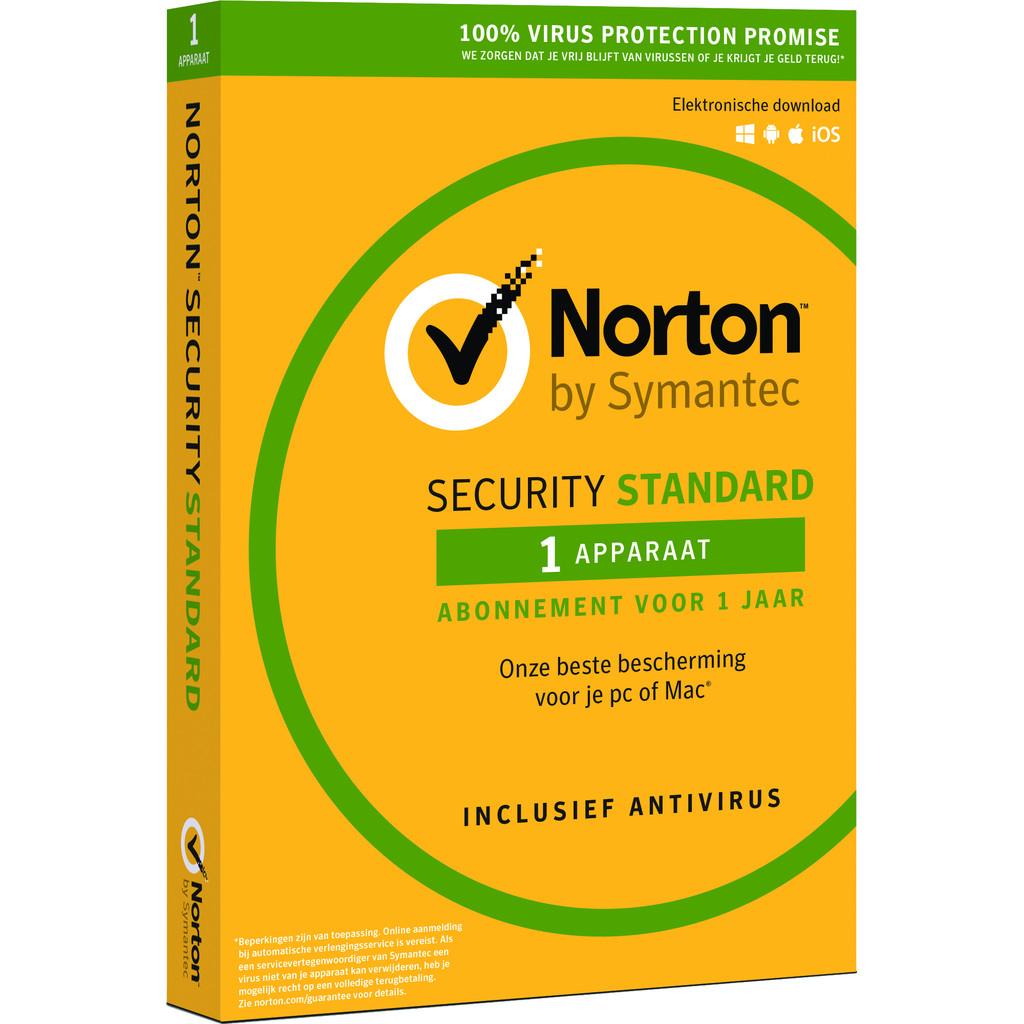 Symantec - Norton Norton Security Standard 2018 | 1 Apparaat | 1 Jaar