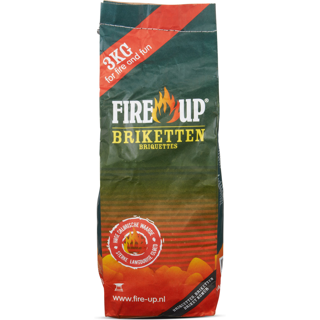 Fire-Up Briketten 3 kg in Rozebeke
