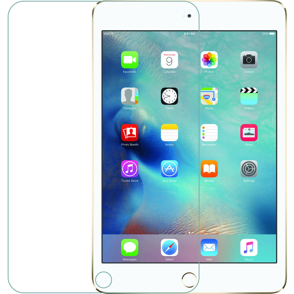 Azuri Apple iPad Mini 4 Screenprotector Gehard Glas in Huinerwal