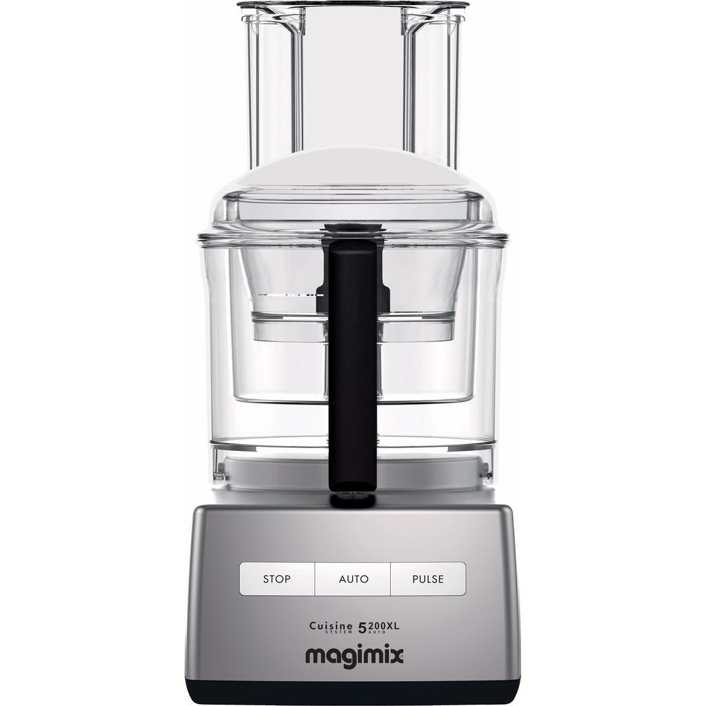 Magimix Cuisine Systeme 5200 XL Mat Chroom in Gebroek