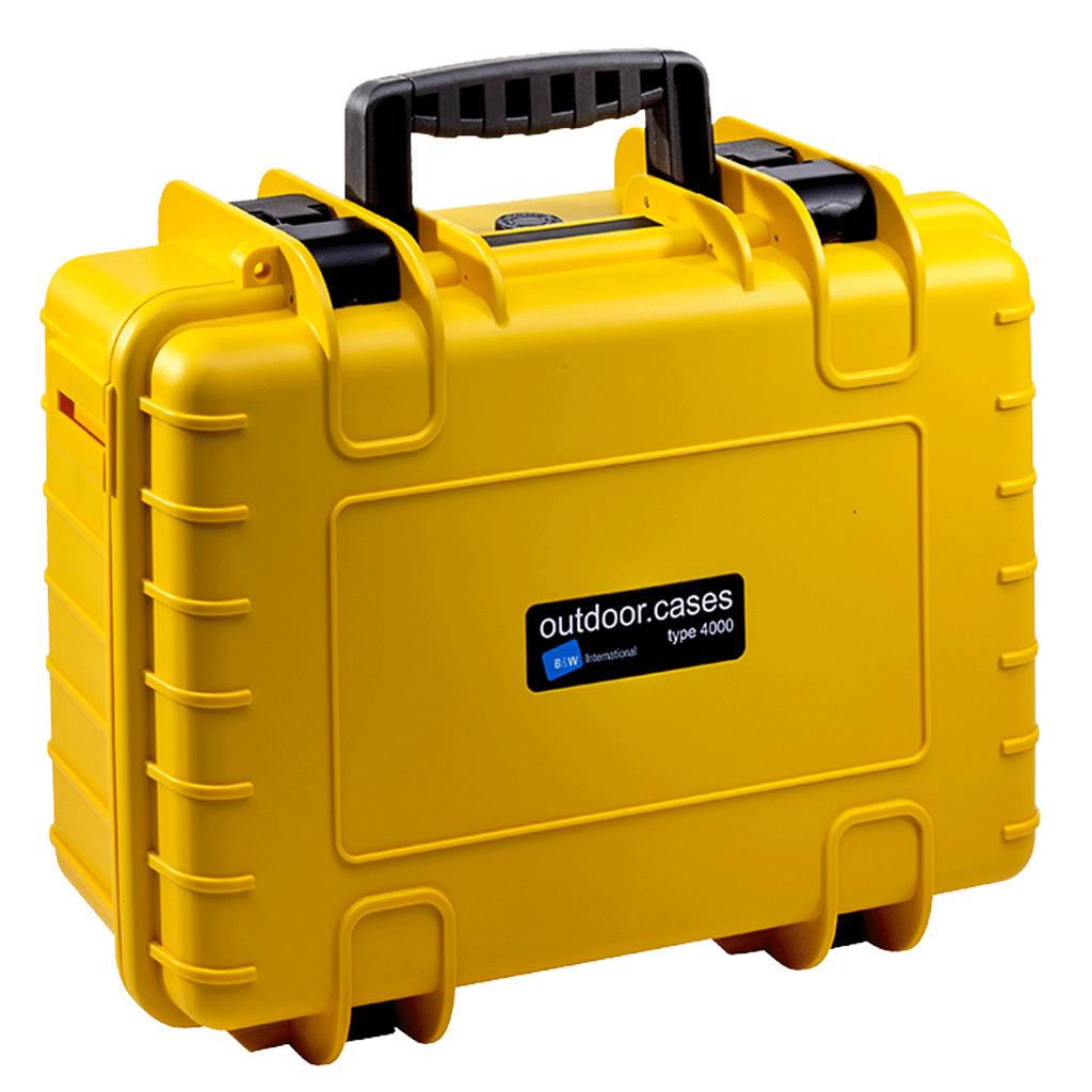 B&W type 4000 geel met plukschuim kopen