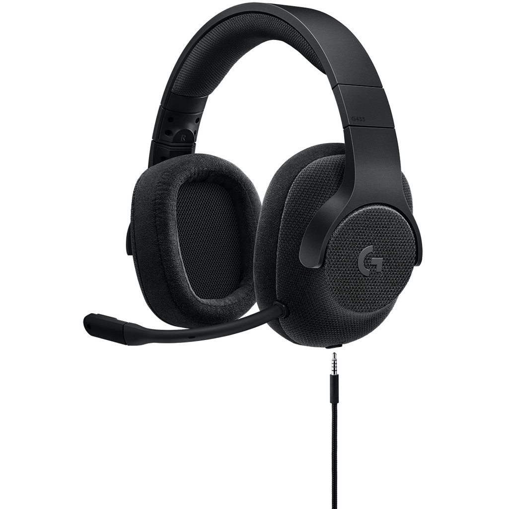 Logitech G433 7.1 Surround Sound Gaming Headset Zwart kopen