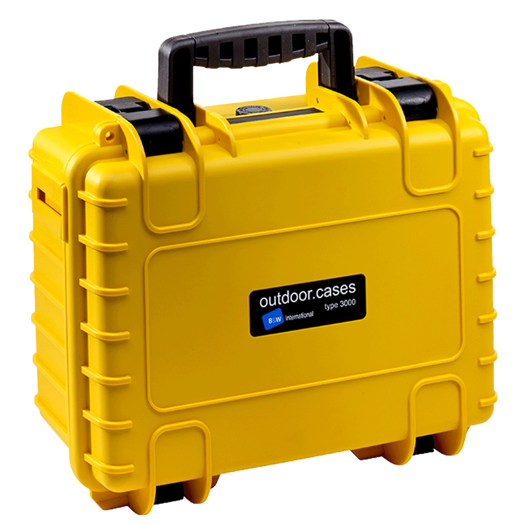 Type 3000 gelb inkl. Schaumstoff