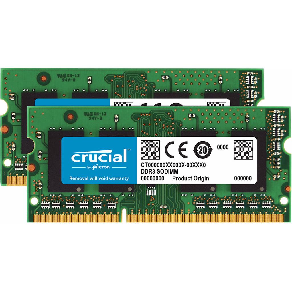 Crucial Standard 16GB DDR3L SODIMM 1600 MHz (2x8GB) kopen