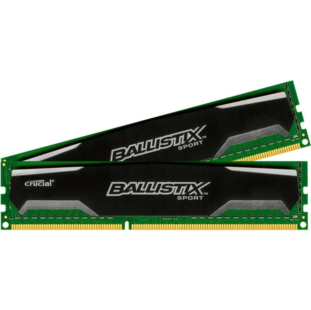 Crucial Ballistix Sport 8GB DDR3 DIMM 1600 MHz (2x4GB) kopen