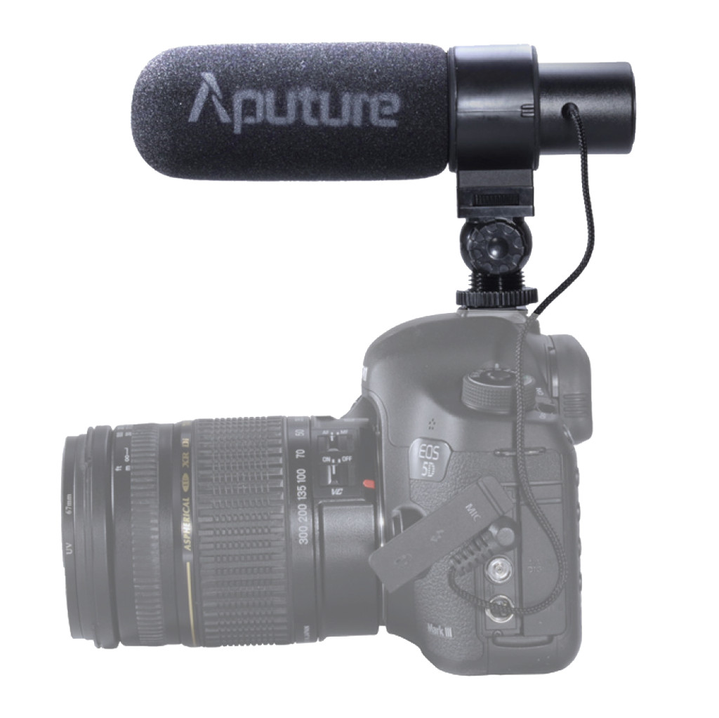 Aputure V-Mic D1 in Roux