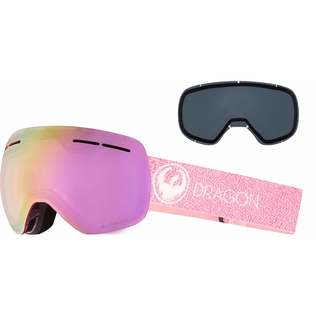Dragon X1S Mill + Luma Pink Ion & Dark Smoke Lenzen