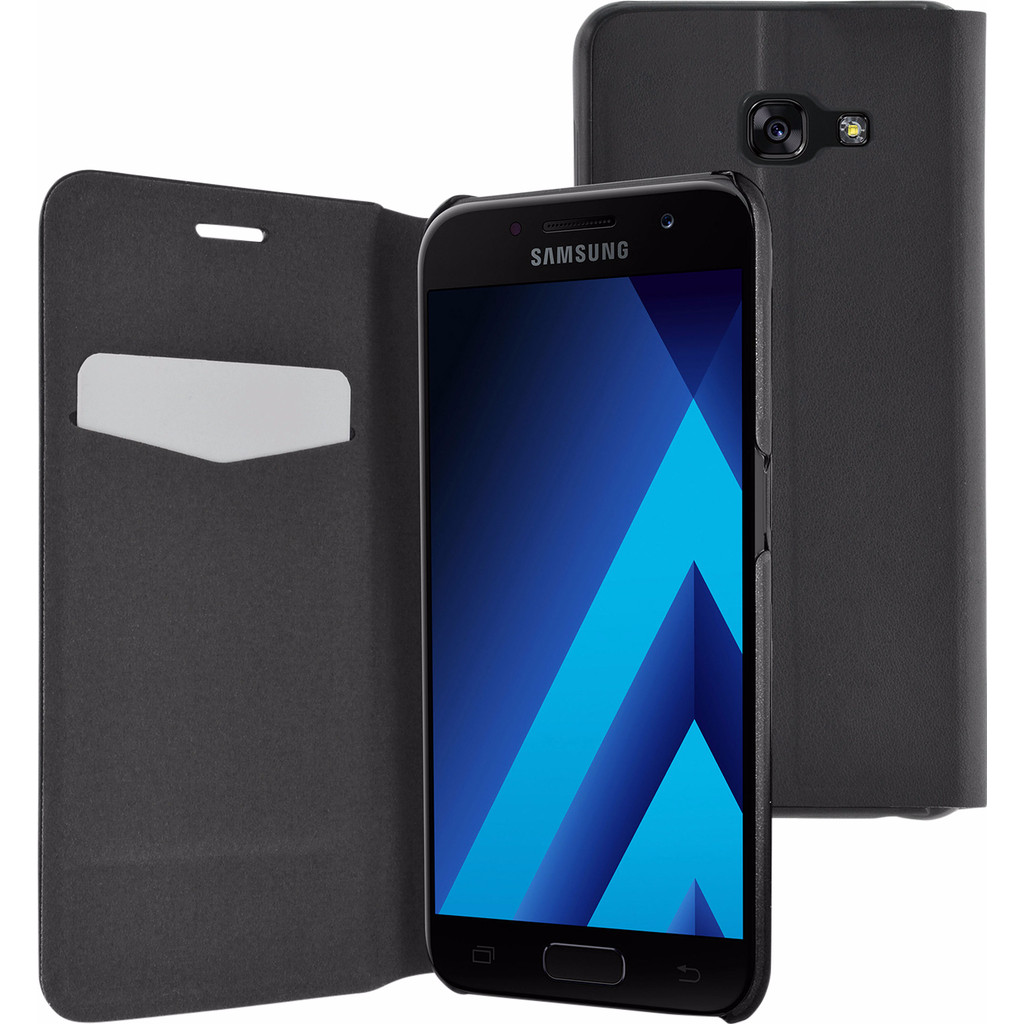 Azuri Booklet Ultra Thin Samsung Galaxy A5 (2017) Book Case Zwart in Moregem