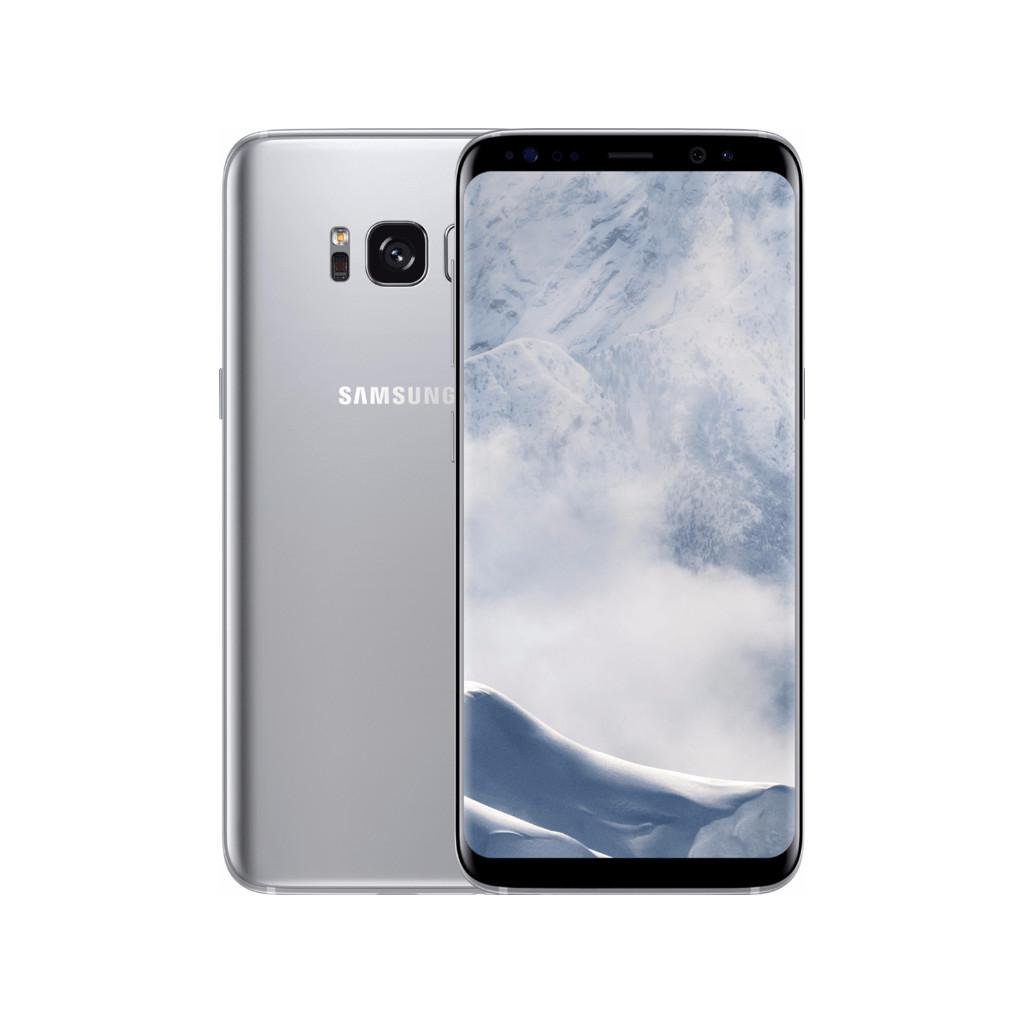 Samsung Galaxy S8 Zilver-64 GB opslagcapaciteit  5,8 inch Quad HD scherm  Android 8.0 Oreo