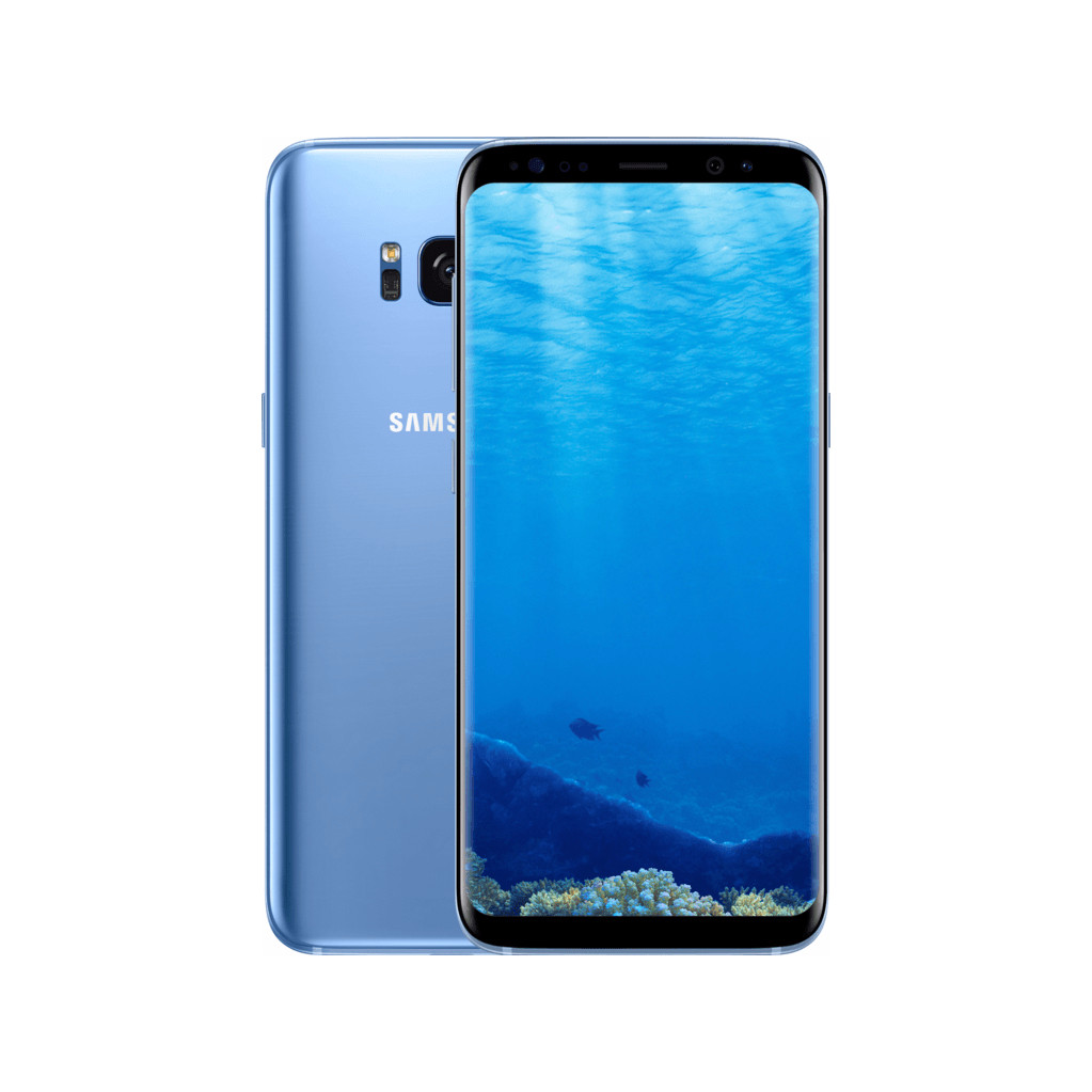 Samsung Galaxy S8 Blauw-64 GB opslagcapaciteit  5,8 inch Quad HD scherm  Android 8.0 Oreo
