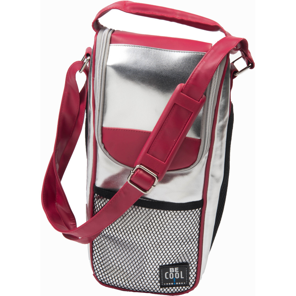 BE Cool T-743 Bottle-Bag Silver/Red in Landorp