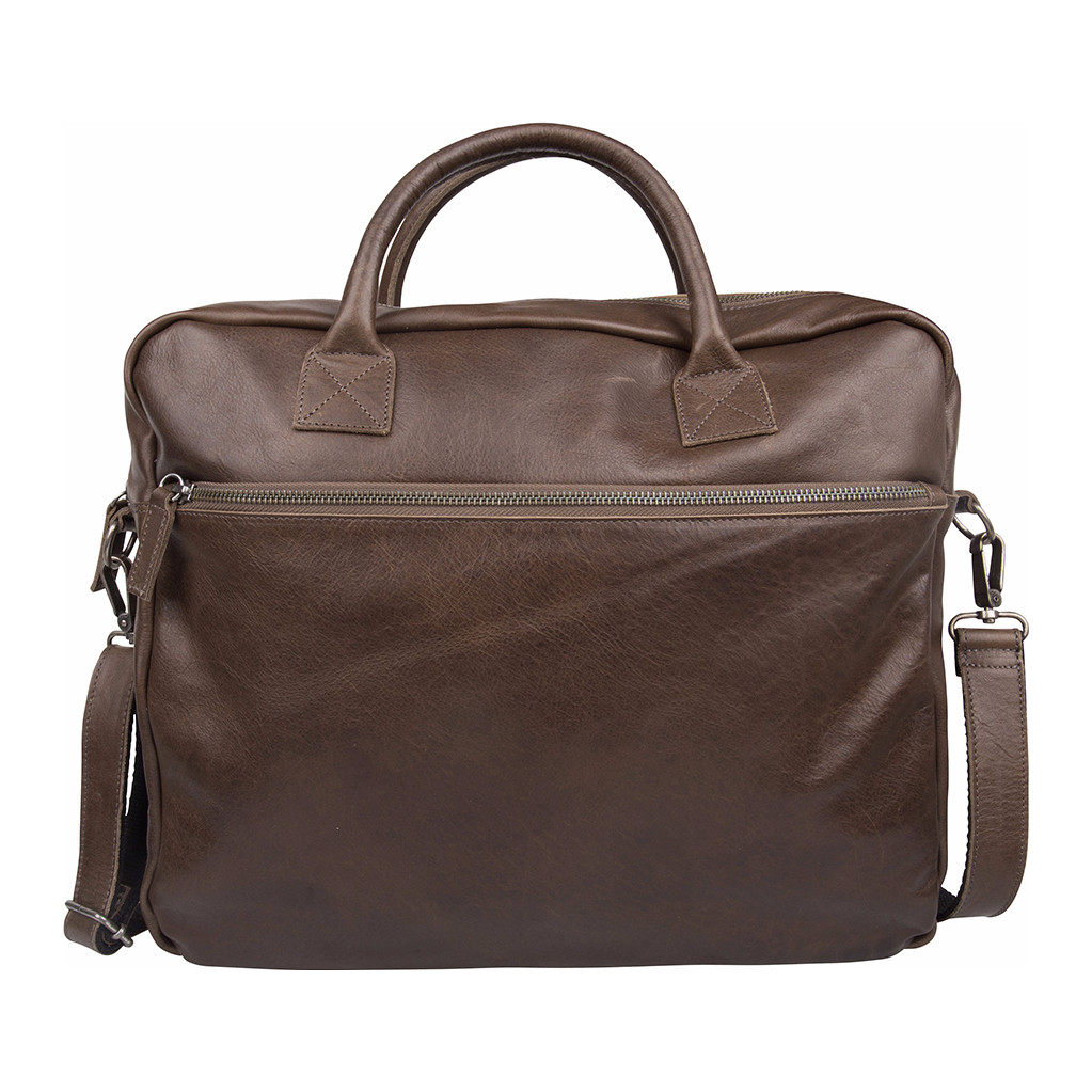 657671b3949 Laptop schoudertas heren. Cowboysbag-Laptoptassen-Laptop Bag Juneau 13 inch -Grijs