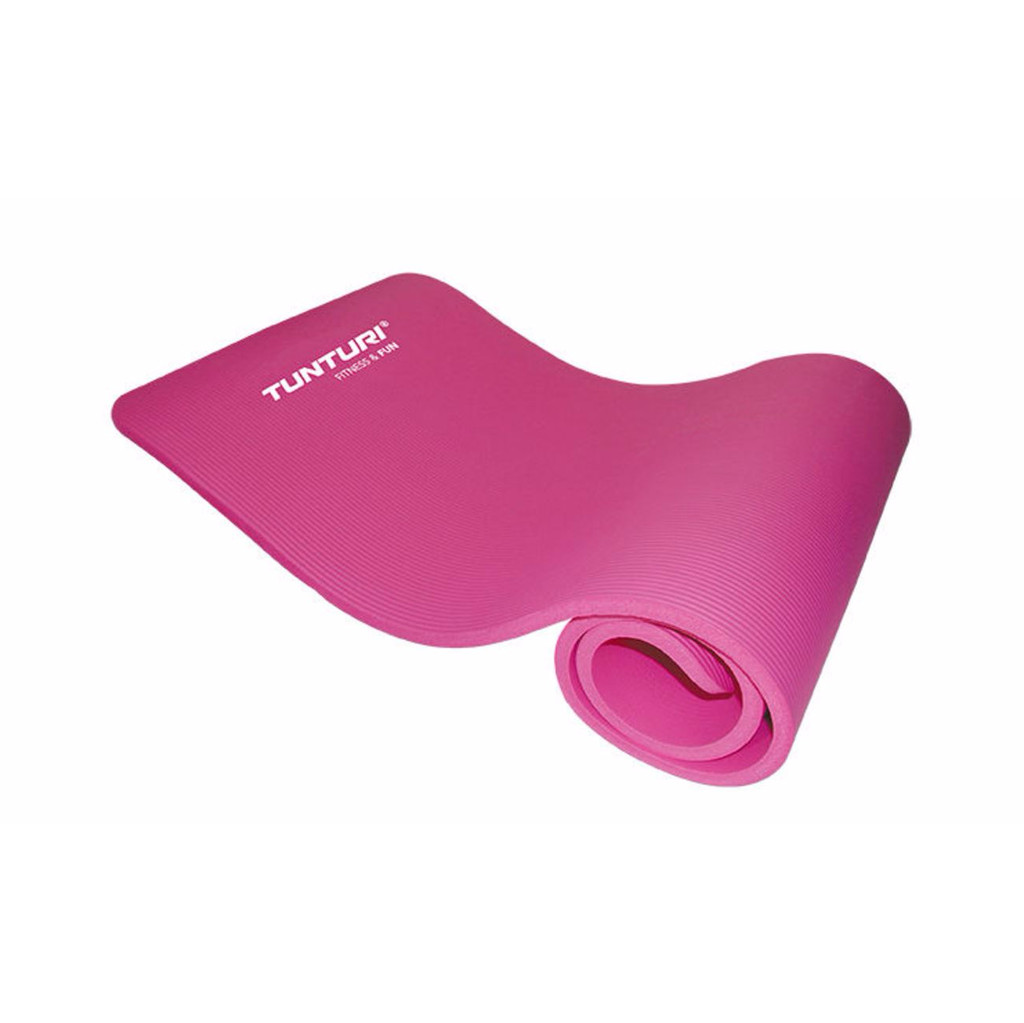 Tunturi Fitnessmat NBR Pink in Hommerts / De Hommerts