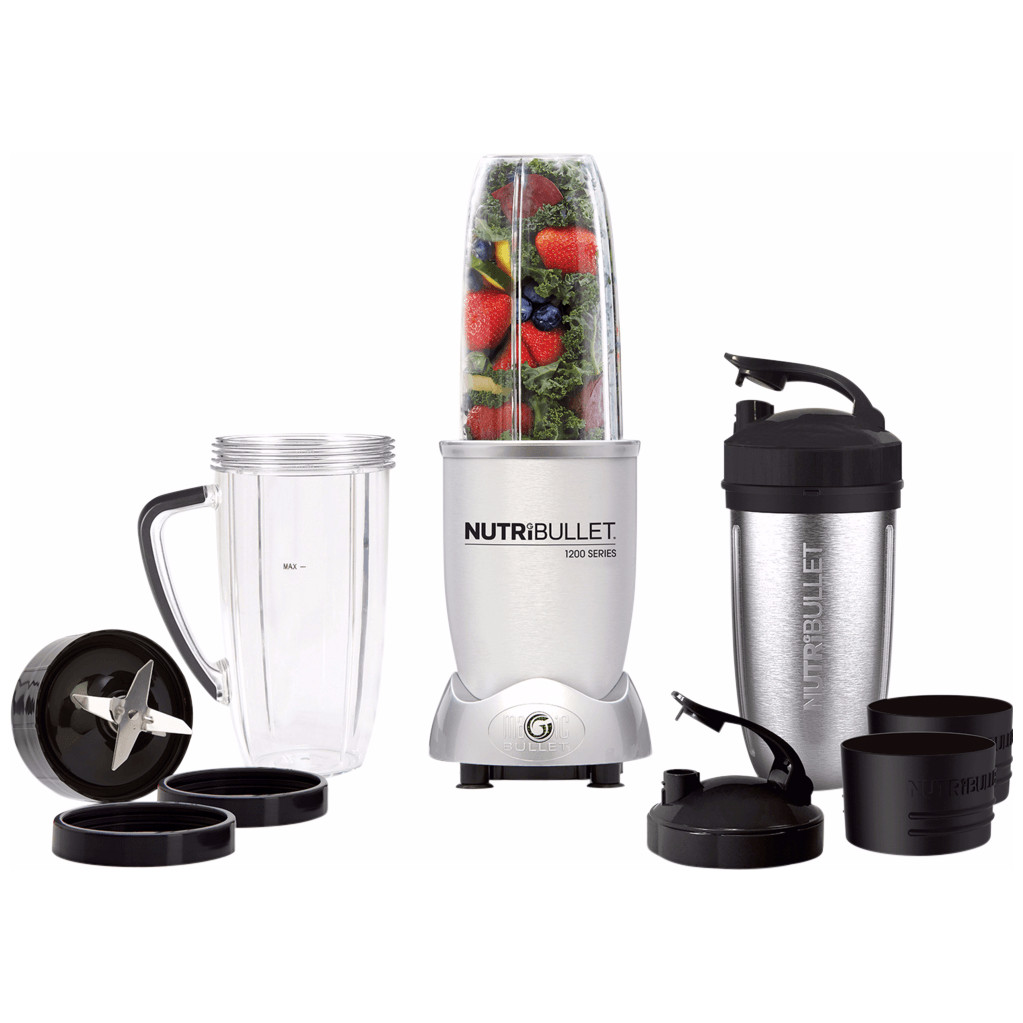 Image of NutriBullet 1200 series Zilver 12-delig
