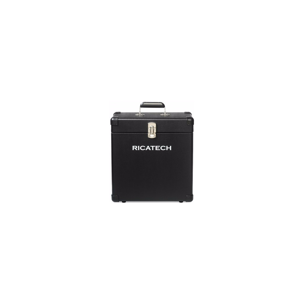 Ricatech RC0042 Record Case Zwart in Schore