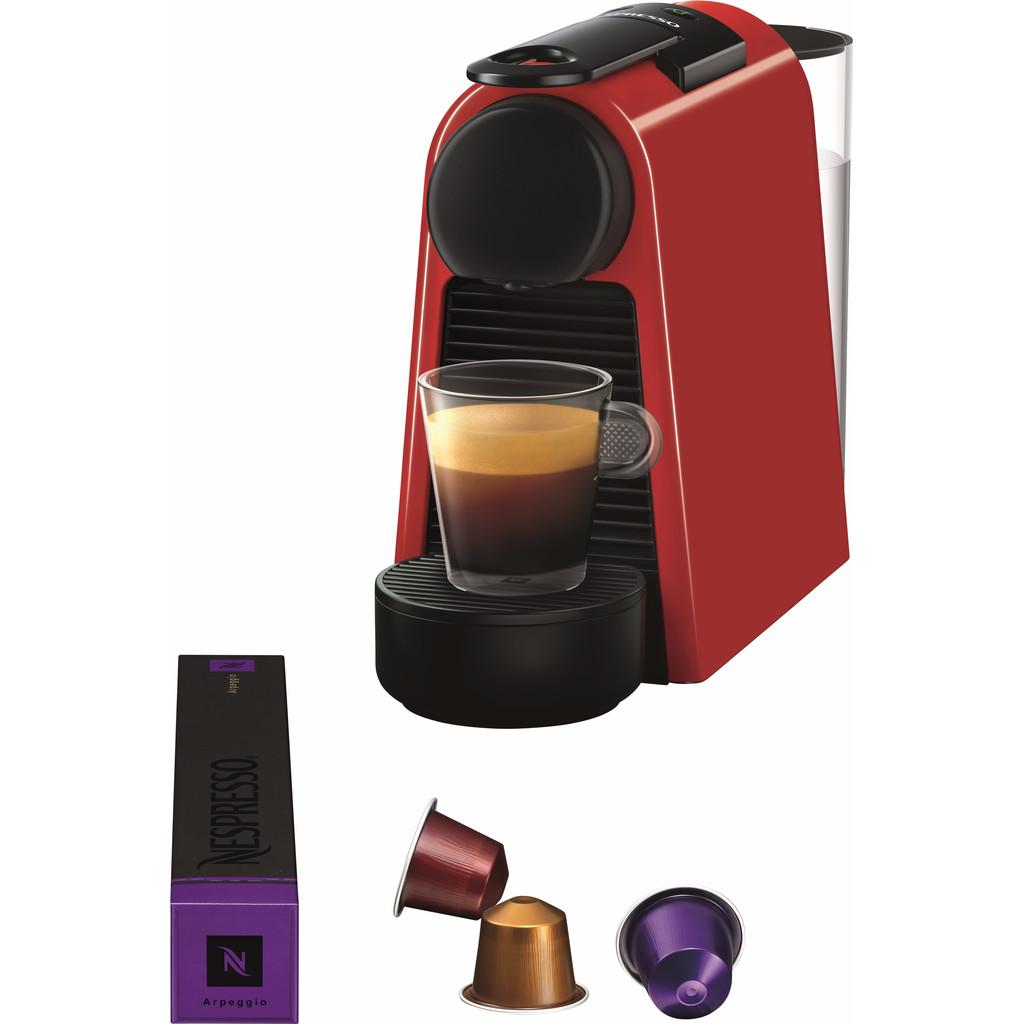 Magimix Nespresso Essenza Mini Rood