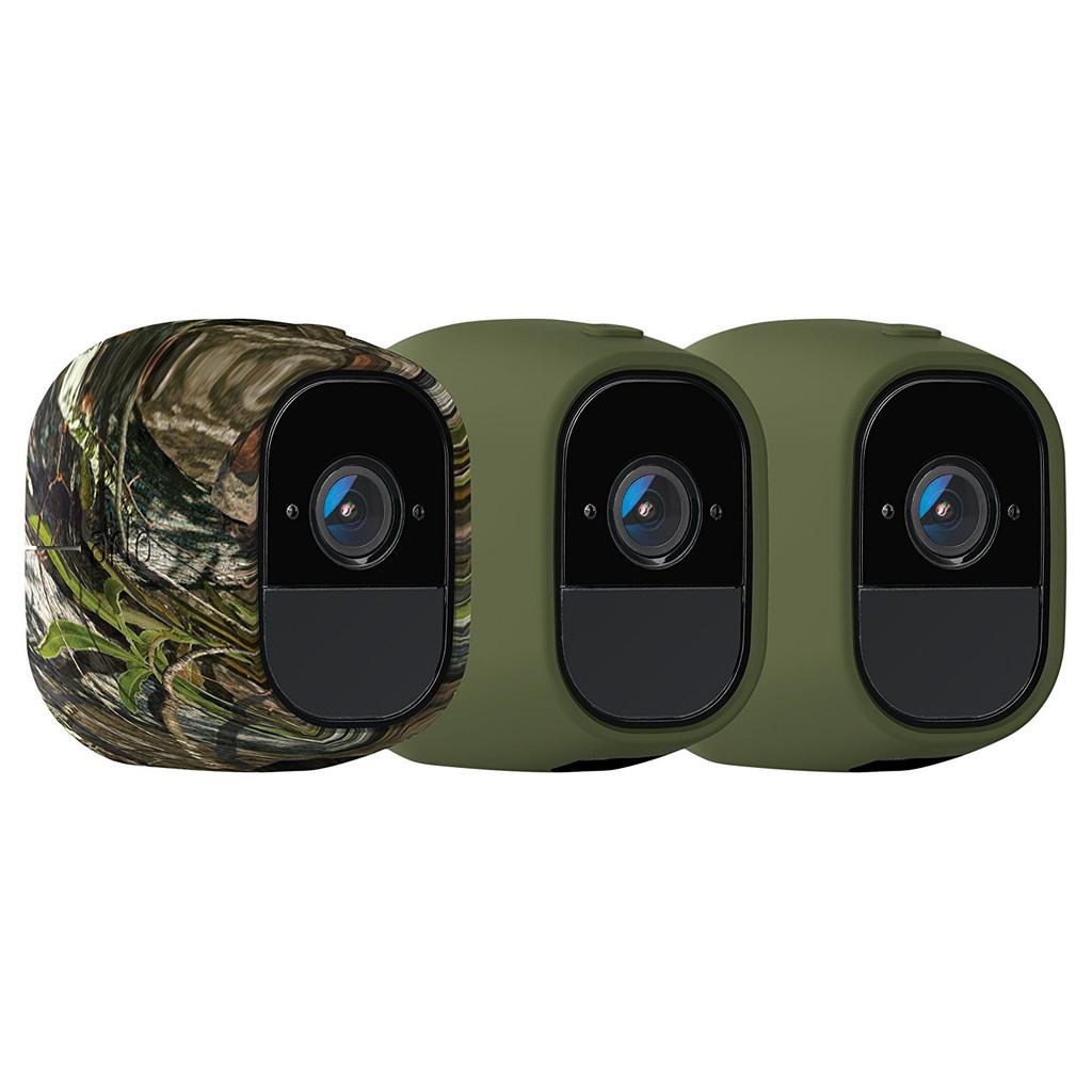 Afbeelding van Arlo Pro Skin 3 Pack Camouflage, Groen houder voor IP camera's
