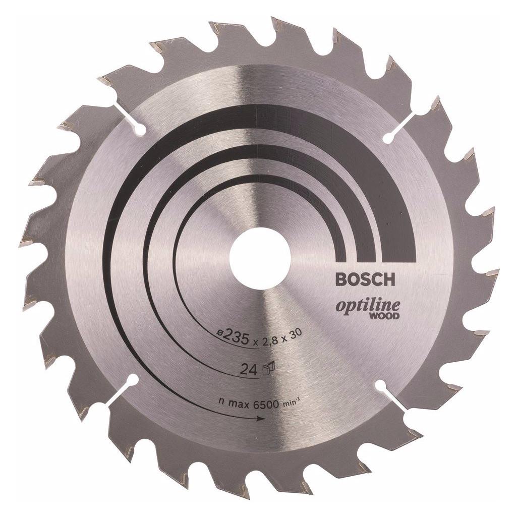 Bosch Cirkelzaagblad Optiline Wood 235x2,8x30 24T kopen