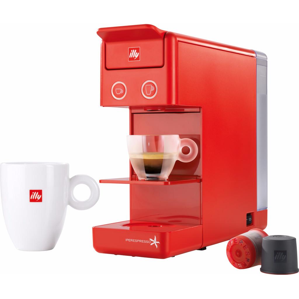 Illy Y3 Espresso Coffee Rood