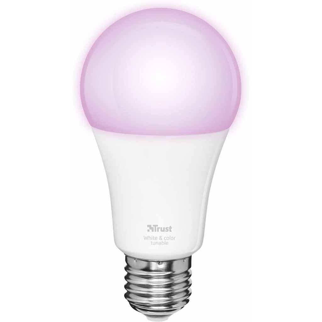 Image of Trust Smart Home White and Color E27 Led Lamp