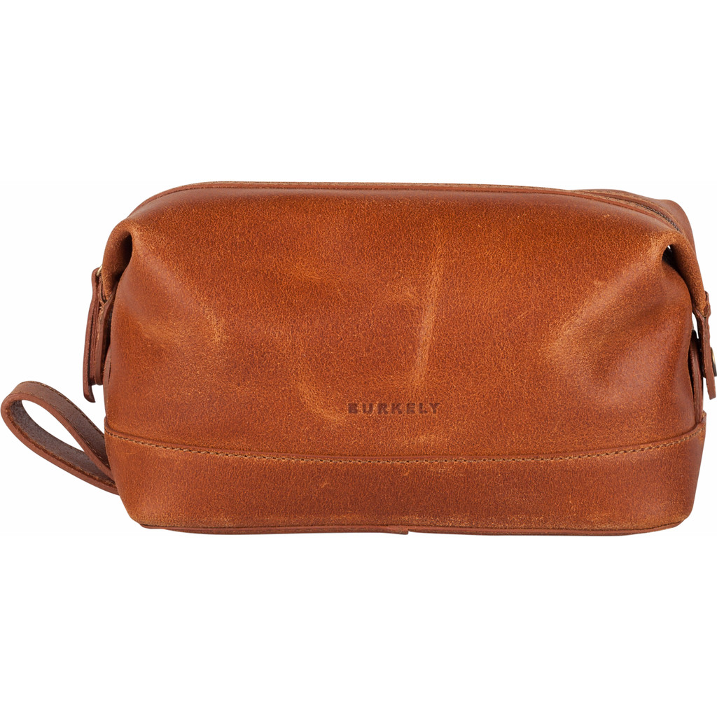 Burkely Vintage Riley Toiletry bag - Cognac in Biggekerke