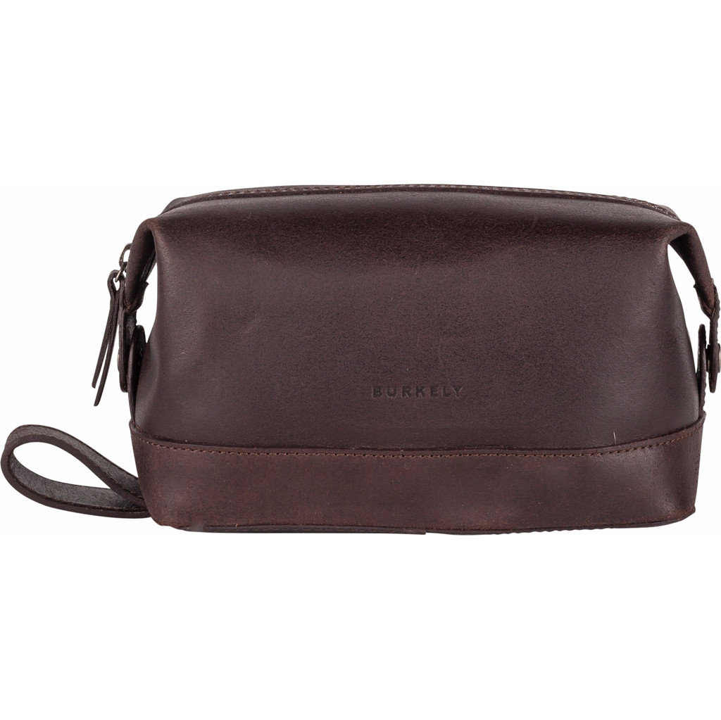 Burkely Vintage Riley Toiletry bag - Bruin in Welden