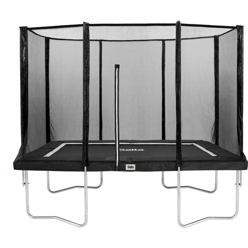 Salta Rechthoekig met Veiligheidsnet 213 x 305 cm Zwart in Mol