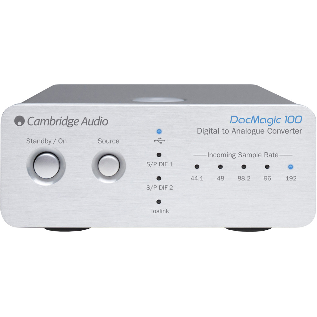 Cambridge Audio DacMagic 100 Zilver in Doische