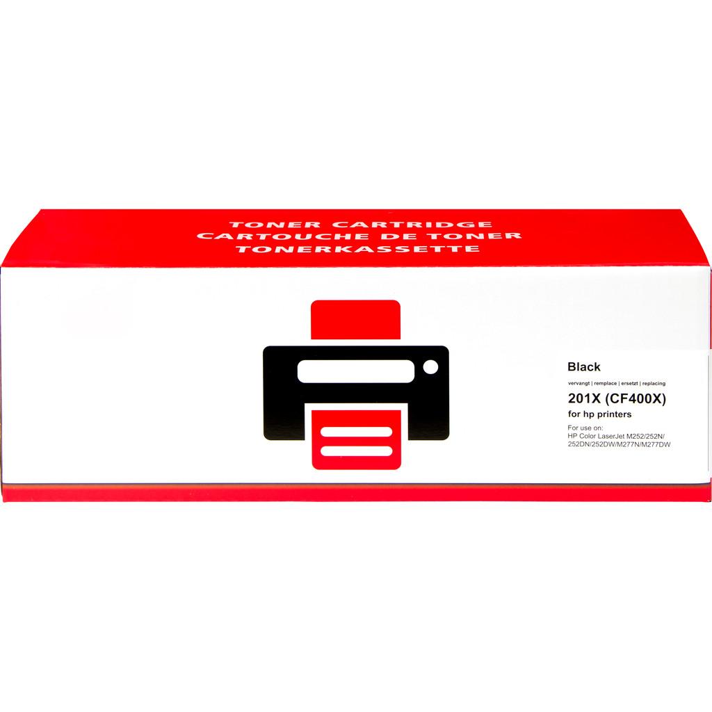 Huismerk 201X Toner Zwart XL voor HP printers (CF400X) in Drieschouwen