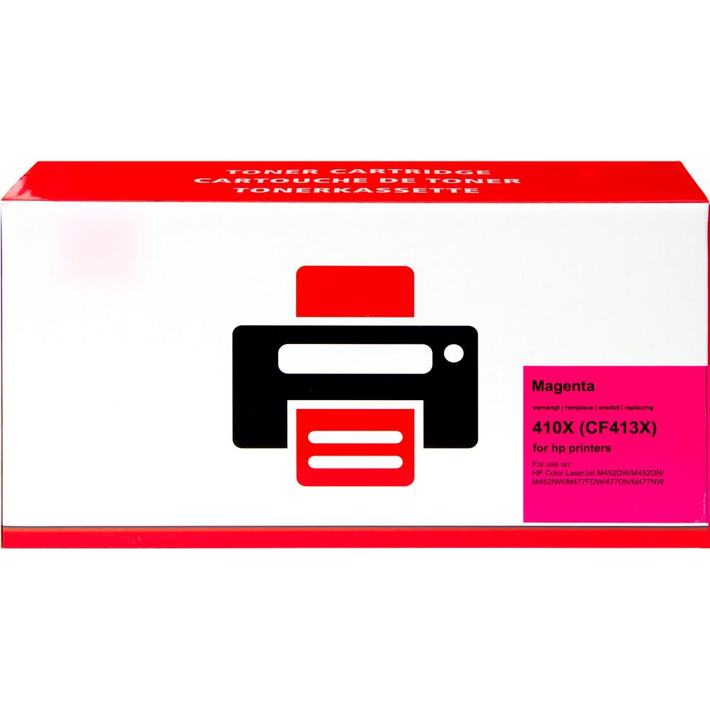 Huismerk 410X Toner Magenta XL voor HP printers (CF413X) in Huccorgne