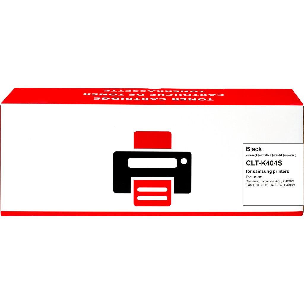 Huismerk CLT-K404S Zwart voor Samsung printers in Sint Vitusholt