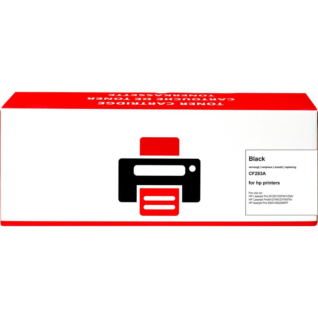 Huismerk 83A Toner Zwart voor HP printers (CF283A) kopen