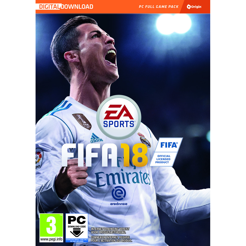 FIFA 18 (Code-in-a-box) | PC