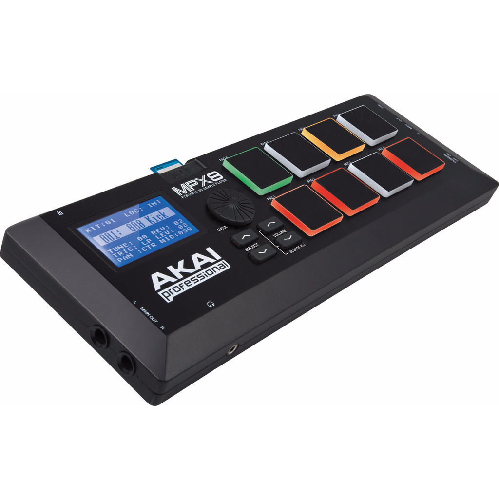 AKAI MPX8 compacte sampler machine